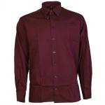 Eterna Herrenhemd Hemd Langarm Modern Fit Beere Gr. M/39 8400/99/X198