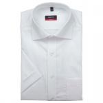 Eterna Herrenhemd Kurzarm 1100/00/C187 Modern Fit Weiß Gr. XL/43