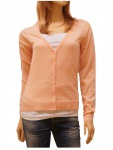 Only Strickjacke 15097795 PASSION L/S V-Neck Cardigan Knit Orange L