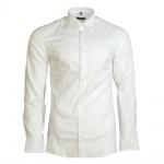 Eterna Herrenhemd Langarm 8424/00/F18B Hemd Slim Fit Weiß M/40