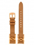 Fossil Uhrenarmband LB-ES3466 Original Ersatzband Leder 18 mm Beige