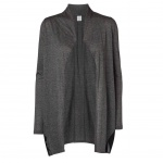 Vero Moda Damen Jersey Jacke ANNIKA L/S Long Cardigan Grau Gr. S