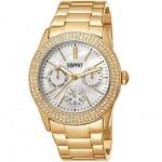 Esprit ES103822012 Damenuhr peony gold vergoldet 30m Analog Datum