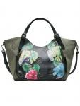 Desigual Damen Handtasche Tasche LILAC ROTTERDAM Grün 18SAXFAA-4092