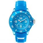 Ice-Watch ICE aqua Malibu Small Uhr Damenuhr Silikon blau