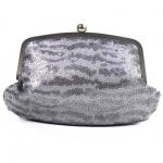Esprit KORA CLUTCH Silber K15080-041 Damen Clutch Tasche Abentasche