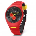 Ice-Watch 014950 ICE P.Leclecq Red Large CH Uhr Chrono Datum Rot