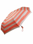 Esprit 50959 Easymatic light beach stripes coral Regenschirm Knirps