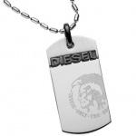 Diesel DX0007 Herren Collier DX 0007 Stahl