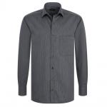 Eterna Herrenhemd Langarm XXXL/47 Comfort Fit Schwarz 4610/38/E187
