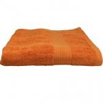 Julie Badetuch Orange Frottee Baumwolle 500g/m2 Handtuch 100 x 150 cm