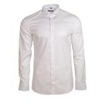 Eterna Herrenhemd Langarm 8424/00/F182 Hemd Slim Fit Weiß M/40