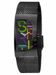 Esprit ES1L046M0075 Houston Bold Black Uhr Damenuhr Edelstahl Schwarz