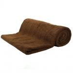 Saunatuch Schokobraun Frottee Baumwolle 500g/m2 Handtuch 80 x 200 cm