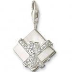 Thomas Sabo 0308 Damen Charm Silber Geschenkbox mit Zirkonia weiß