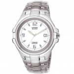 Citizen Eco-Drive BM1290-54B Herrenuhr Titan 100m Analog Datum