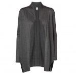Vero Moda Damen Jersey Jacke ANNIKA L/S Long Cardigan Grau Gr. XS