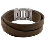 Fossil JF84955 Herren Armband JF 84955 Leder braun