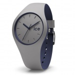 Ice-Watch 012974 CITY duo Cloud medium 3H Uhr Damenuhr grau