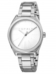 Esprit ES1L056M0045 Slice Uhr Damenuhr Edelstahl Silber