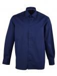 Eterna Herren Hemd Langarm Comfort Fit 3072/19/E18E Blau L/42