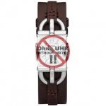 Fossil Uhrband LB-ES2637 Original ES 2637 Lederband 7 mm