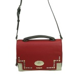 Desigual Bols Roma Tricolor Rot Gelb 17WAXPFR-3000 Handtasche Tasche