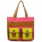 Fossil SHAY Braun-Pink ZB5685-664 Damen Handtasche Tasche Henkeltasche
