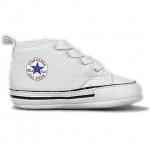Converse Baby Schuhe First Star Weiß 88877 Größe 18