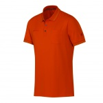 Mammut Herren Polo Shirt Kurzarm Michener Polo Shirt Men Orange Gr. S