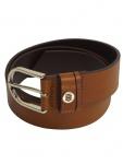 Tommy Hilfiger Damen Gürtel Jeansgürtel Classic Belt Leder 80cm Braun