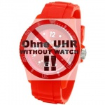 Ice-Watch Uhrenarmband LB-SI.RD.U.S.09 Silikon 20 mm Rot