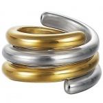 Esprit ESSE90969A Damen Ring swiveled bicolor Silber 925 60 (19.1)