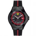 Scuderia Ferrari 0830027 Race Day Uhr Herrenuhr Silikon schwarz