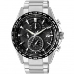 Citizen AT8154-82E Radio Controlled Eco-Drive Chrono Titan Uhr Datum