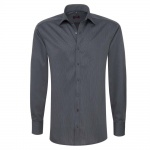 Eterna Herrenhemd Hemd Langarm Modern Fit Schwarz Gr L/42 4610/38/X177
