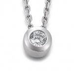 GOOIX 902-1754 Damen Anhänger Silber Zirkonia Weiß