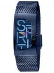 Esprit ES1L046M0085 Houston Bold Blue Uhr Damenuhr Edelstahl Blau