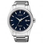 Citizen BM7360-82L Eco-Drive Uhr Herrenuhr Titan Datum Silber