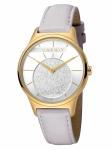 Esprit ES1L026L0025 Grace Silver L.Grey Uhr Damenuhr Lederarmband Grau
