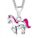 Prinzessin Lillifee 2018177 Mädchen Collier Pferd Silber Pink 38 cm