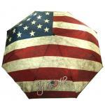 Y Not 55570 Easymatic Light Flagge USA Blau-Rot Taschenschirm