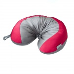 Samsonite 45581-1739 Convertible Travel Pillow Rot-Grau Nackenkissen