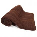 Duschtuch Schokobraun Frottee Baumwolle 500g/m2 Handtuch 70 x 140 cm