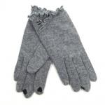 Esprit 116EA1R006-E030 Felted Gloves Grau Finger Handschuhe L
