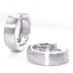 Basic Silber SO32 Herren Creolen Silber