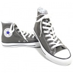 Converse Damen Schuhe All Star Hi Grau 1J793 Chucks Sneakers Gr. 38