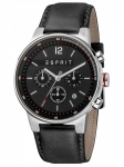 Esprit ES1G025L0025 Equalizer Black Chronograph Herrenuhr Lederarmband