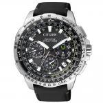 Citizen CC9030-00E Satellite Wave - GPS Uhr Herrenuhr Leder schwarz
