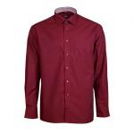 Eterna Herrenhemd Langarm Comfort Fit Rot Gr. XXL/46 8500/58/E15P
